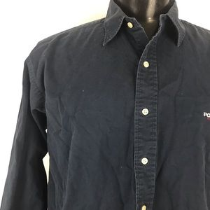 Ralph Lauren Polo Sport Shirts - Men's Navy Blue Ralph Lauren Polo Sport
